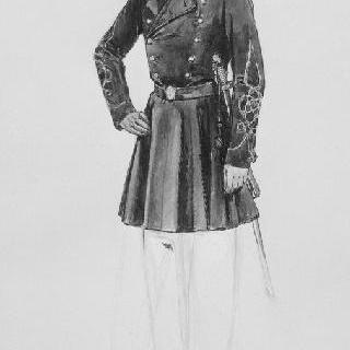 해군 보병대의 4전투부대 장교, 코친친 (1859-1870)