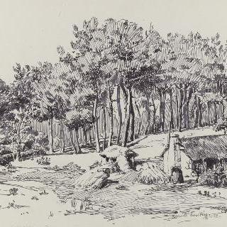 생 일레르 드 리에즈의 라 파이에 마을의 집들