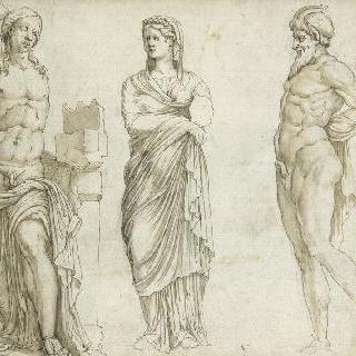 카사 사시의 고대 조각들 (로마)