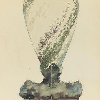 제올로지 꽃병을 위한 장식 스케치