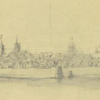 오를레앙 (루아레)와 그 요새들의 전경
