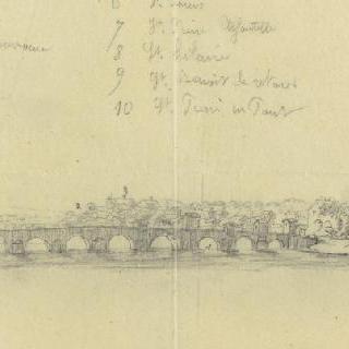 루아르 강에서 바라본 오를레앙 (루아레)의 전경