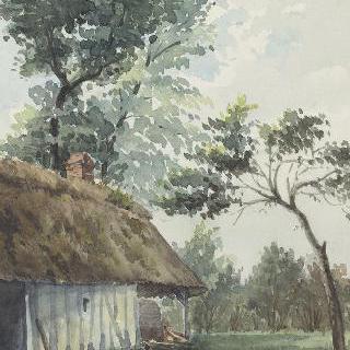 부아 기욤에 있는 비유 로지의 농가의 빵 굽는 화로 (루앙 근처)