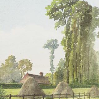 농가, 부아 기욤의 헤르뵈즈 거리 (루앙 근처)