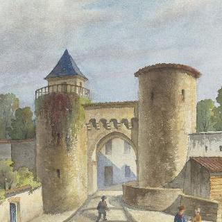르 도라 (오트 비엔나) : 도시의 입구
