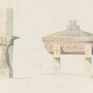 성수반과 무덤