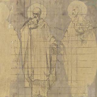마들렌 교회 : 성가대의 모자이크 프리즈 장식