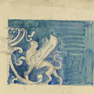 루브르박물관, 아시리아 방의 장식