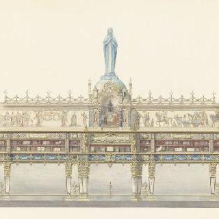 바티칸의 기념비적인 도서관