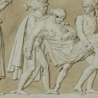 아우어스타트 전투에서 심각한 부상을 입은 브룬스윅 공작