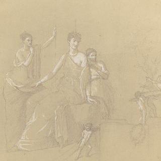 국립 박물관 (나폴리) : 취한 헤라클레스와 옴팔레