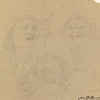 국립 박물관 (나폴리) : 두 개의 기이한 가면