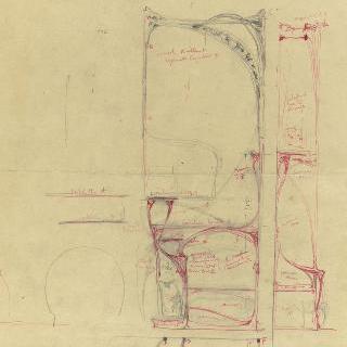 카스텔 베랑제 : 거실 벽난로 오른쪽 가구