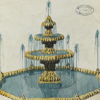 로빗 앨범 : 전원풍의 고대의 분수