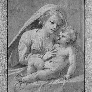 성모와 아기예수