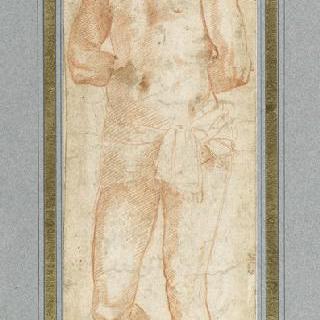 서 있는 성 세바스찬