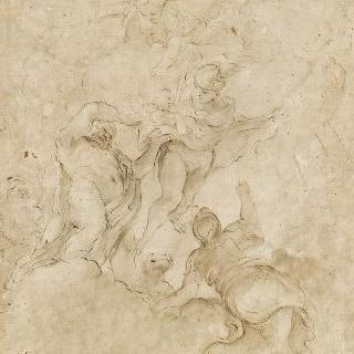 메르쿠리우스에게 바쿠스를 맡기는 제우스