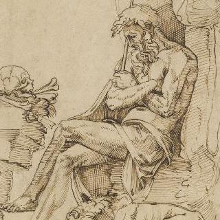 명상 중인 성 제롬