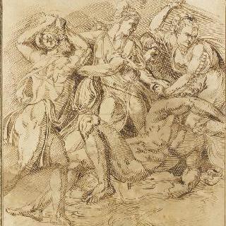 바쿠스의 여사제들에게 쫓기는 오르페우스