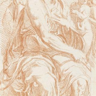 세 천사에게 둘러싸여 앉아 있는 예언자