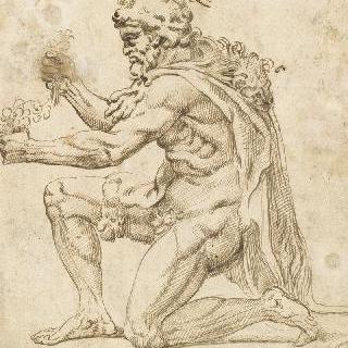 무릎을 꿇은 헤라클레스