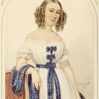 로랑스 줄리 에밀리 드 랑빌리 (1912-1968)의 초상