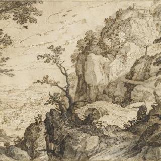 경사가 심한 산