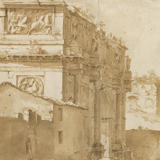 로마의 콘스탄틴 개선문