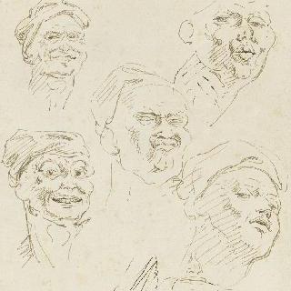캐리커처 : 다섯 개의 기이한 얼굴들