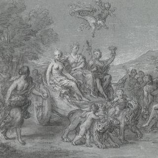 키벨레, 케레스, 바쿠스의 승리