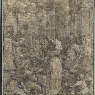 축복의 양초 나누어주기, 클루의 성자들의 예배 행렬