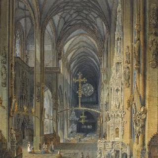 뉘렘베르그의 생 로랑 교회의 내부