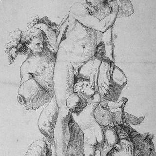 바쿠스와 목신들