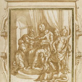 네 명의 성자와 함께 있는 성모와 아기 예수