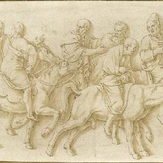 말을 탄 사제들