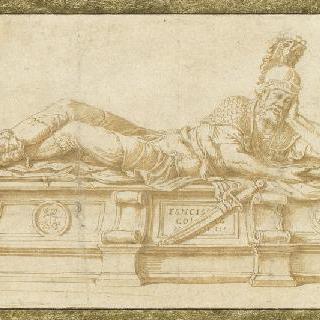 프랑수아 드 곤자그 2세의 무덤을 위한 계획안