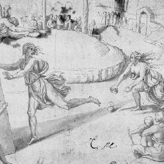 경주에서 아틀란티스를 이긴 히포메노스