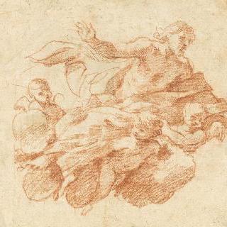 세 천사에 의해 옮겨지는 그리스도