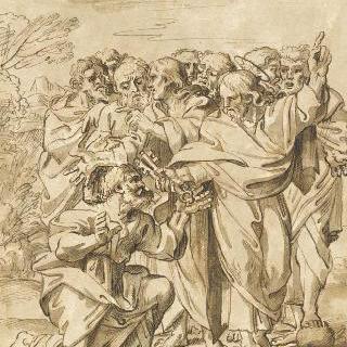 성 베드로에게 열쇠를 건네주는 그리스도