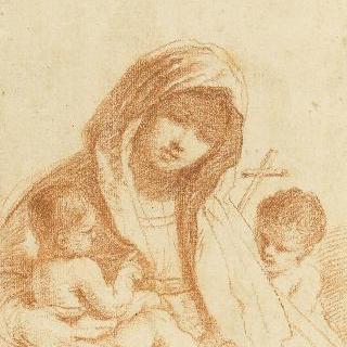 성모와 아기 예수, 그리고 어린 성 요한