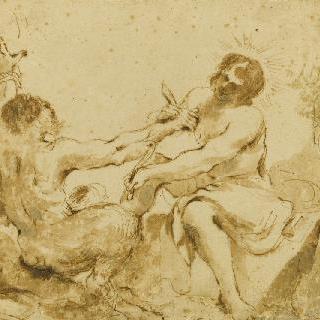 마르시아스의 가죽을 벗기는 아폴론