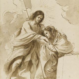 성모 앞에 나타난 부활한 그리스도