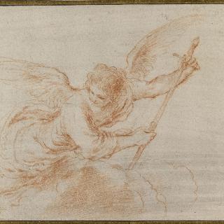 구름 위의 대천사 가브리엘