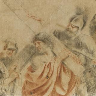 십자가를 진 그리스도에게 다가가는 성녀 베로니크