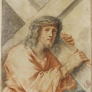 십자가를 진 그리스도의 상반신