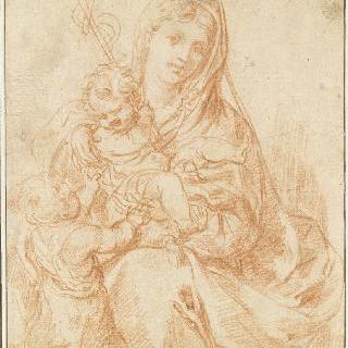아기 예수와 어린 성 요한을 안은 성모