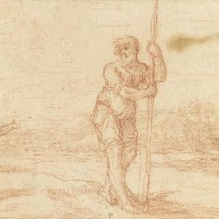 성 크리스토프 앞에 나타난 아기 예수