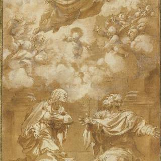 사라와 아브라함 앞에 나타난 신
