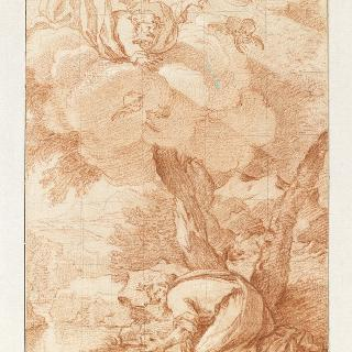 아브라함 앞에 나타난 신