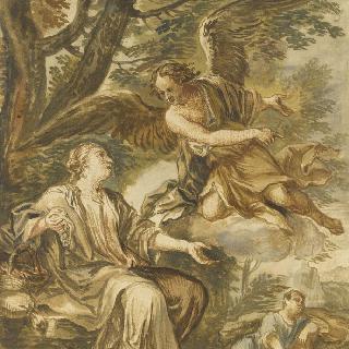아가와 이스마엘 앞에 나타난 천사